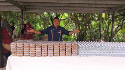 Sponsorship of Packed Food
