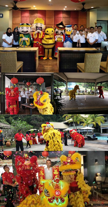 A Roaring Celebration At The Taaras Beach & Spa Resort